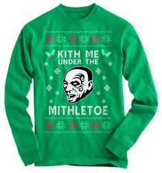 Kith Me Ugly Christmas Sweater