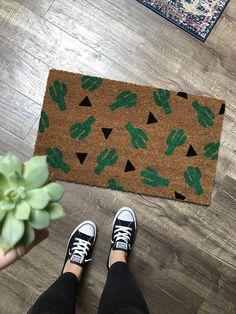 #Cactus doormat