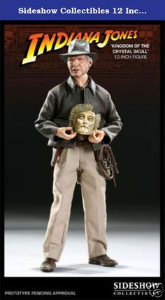 Sideshow Collectibles 12 Inch Action Figure Indiana Jones Kingdom of the Crystal Skull. High quality Indiana Jones Figure from Sideshow Collectables.