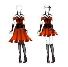 Outfit design - 63 - closed by LotusLumino.deviantart.com on @deviantART
