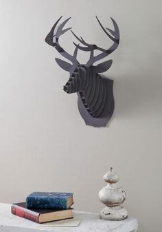 Questions and Antlers Buck Trophy | Mod Retro Vintage Wall Decor | ModCloth.com