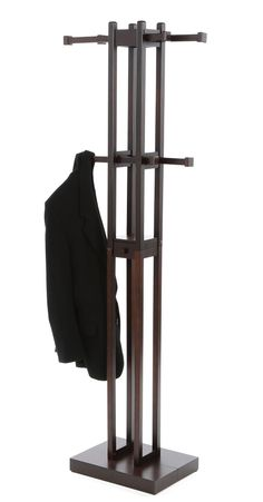 Kobe Coat Stand In Dark Walnut