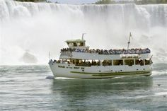 Maid of the Mist, Niagara Falls.  This was a terrific experience (did it with my mom and my Aunt Eva) but I think the thrill of being this close to the Falls is something that wouldn't be as exciting the second time.