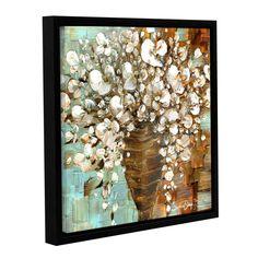 ArtWall Susanna Shaposhnikova's Bouquet, Gallery Wrapped Floater-framed