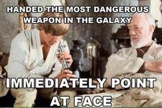 Star Wars Meme - Lightsaber