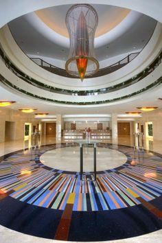 Jumeirah Beach Hotel, Dubai by WS Atkins Architects