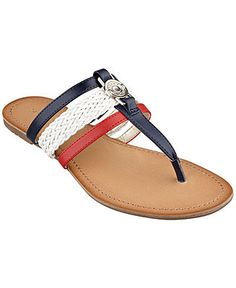 Tommy Hilfiger Women's Liz Thong Sandals - All Women's Shoes - Shoes - Macy's