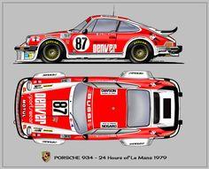 """Porsche 934 """"Denver"""" 1979"""