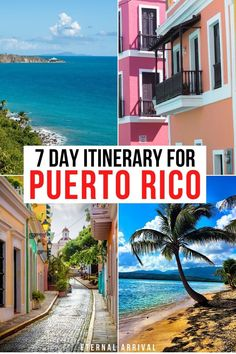 Traveling to Puerto Rico? Here's a 7 day Puerto Rico itinerary that covers the best of the island: San Juan, El Yunque, Fajardo & Vieques! PR Itinerary | things to do in Puerto Rico | itinerary for Puerto Rico | places to visit in Puerto Rico | one week in Puerto Rico | 7 days in puerto rico | 7 day PR itinerary Maui Travel, Maldives Travel, Beach Vacation Spots, Vacation Trips, South America Travel, North America, Cruise Destinations, Caribbean Vacations, Culture Travel