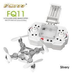 FQ777 FQ11W Wifi FPV With Foldable Arm 3D Mini 2.4G 4CH 6 Axis Headless Mode RC