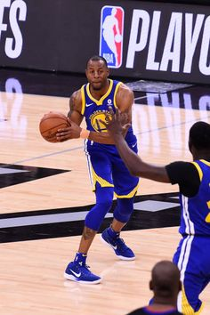 8558235c23a Andre Iguodala of the Golden State Warriors looks to pass the ball against  the San Antonio