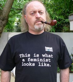 "Bill Bailey.  ""Three women walk into a pub and say, `Hooray, we've colonised a male-dominated joke format'"""