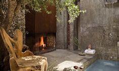 Love Love the outdoor spa area!! Areias Do Seixo Charm Hotel From Lisbon