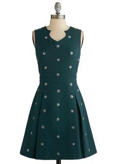 Clustered Luster Dress | Mod Retro Vintage Dresses | ModCloth.com