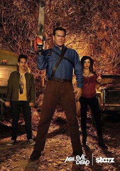 Ash vs Evil Dead - totally loving this show!!