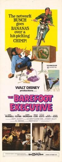 The Barefoot Executive disney movie poster 1971