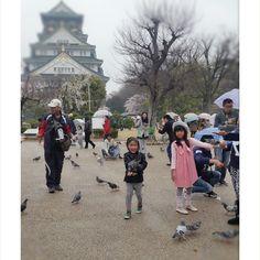 @funkybukkyo our #kids #kidstyle #akirastyle #osaka #osakacastle #travel #japan #pupuru #japantravel #wifirental