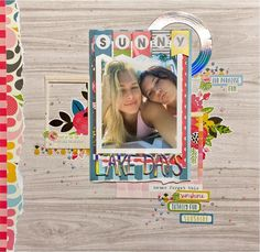 Sunny Lake Days Scrapbook layout by Shannon (@shescrafty20) using our gorgeous August 2020 Kit ✂💯✂  Want to get these adorable papers? Visit scrapbookingstore.com now, be sure to join us and get exciting deals!⁣💝  ⁣⁣⁣#scrapbookingstore #summerfun #scrapbooklayout #scrapbookingkits #papercraft #scrapbooking #cardmaking