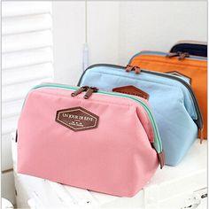 2017 HOT Women Cosmetic Bag Organizer Bag Portable Multifunctional Travel Pockets Handbag Makeup Bag High Quality F328