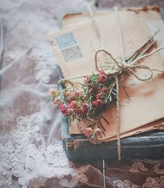 Tag someone - Via Check out their page for more daily inspirat. Nature Aesthetic, Book Aesthetic, Flower Aesthetic, Aesthetic Vintage, Aesthetic Photo, Aesthetic Pictures, Pen Pal Letters, Old Letters, Photos Amoureux