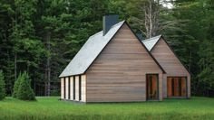 goodwoodwould: Good wood - a pair of beautiful bungalows in Southern Vermont by Minneapolis based architects HGA.
