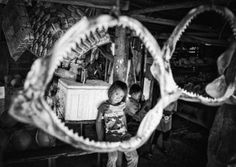 "HONORABLE MENTION - ""Shark mouth"" by Weiling Xiao, China.