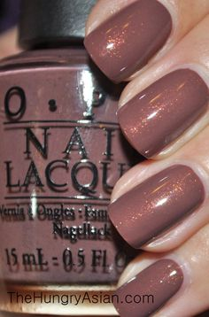 OPI Wooden Shoe Like to Know swatched £4
