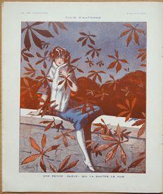 Georges Pavis (1886 – 1977). Folie d'Automne.  La Vie Parisienne, 30 Octobre 1920. [Pinned 10-xi-2015]