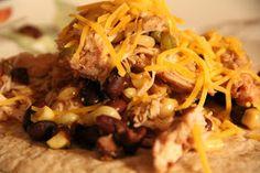 Mix and Match Mama: Dinner Tonight: Crock Pot Chicken Tacos