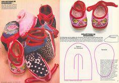 Las chorradikas de Laury: Patrón zapatitos bebé