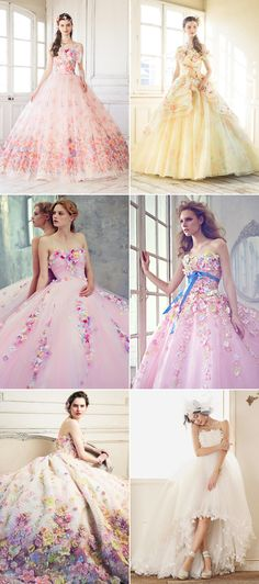 42 Wonderfully Romantic Princess-Worthy Gowns for Summer Brides!