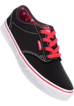 Vans Atwood-Kids, Kids-shoe, black-red-white #Kidsshoe