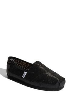 TOMS 'Classic - Glitter' Slip-On (Women) available at #Nordstrom