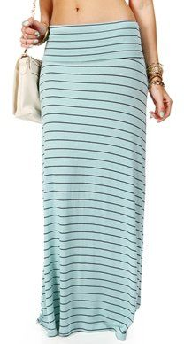 #Windsor                  #Skirt                    #SALE-MintNavy #Striped #Maxi #Skirt                SALE-MintNavy Striped Maxi Skirt                                              http://www.seapai.com/product.aspx?PID=1759981