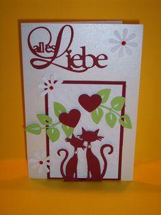 Hochzeitskarten - Hochzeitskarte - ein Designerstück von Sternchen0568 bei…