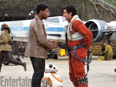 Finn e Poe Dameron | The Force Awakens