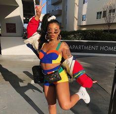 Easy And Cheap Diy Ideas: Urban Fashion Photoshoot Men urban fashion streetwear.African American Urban Fashion Long Sleeve urban wear summer spring Fashion For Women Black. 90s Urban Fashion, Hip Hop Fashion, Look Fashion, Petite Fashion, Street Fashion, Urban Apparel, Urban Outfits, Mode Outfits, Fashion Outfits