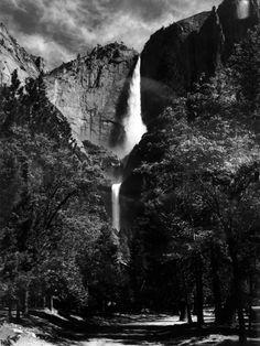 ansel adams.....yosemite falls
