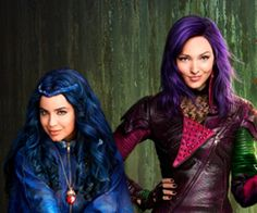 disney descendants mal and evie - Google Search