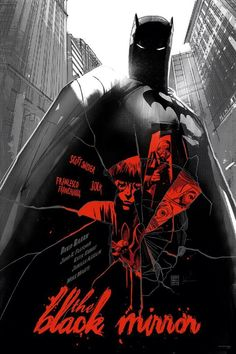 Batman: The Black Mirror by Francesco Francavilla and Jock