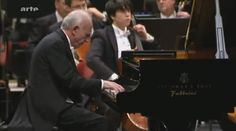 Maurizio Pollini plays Johannes Brahms' Piano Concerto No.1 in D minor, Op. 15. Staatskapelle Dresden conducted by Christian Thielemann.