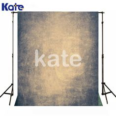 Retro Gray Texture Photography Backdrops No Crease by katehome2014