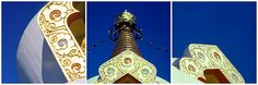 """These photos were taken last year around January. The place is close to the village Tar, Hungary. This stupa is called """"Béke"""" (peace) stupa and built in-memoriam of Kőrösi Csoma Sándor,also known as Alexander Csoma de Kőrös."""