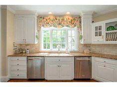 Kitchen Windows Above Sink Wood Valance Over Kitchen Sink For The House Wood Valance Valance And Sinks Kitchen Window Sink Ideas