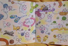 。 。 ⋆。˚✩The Day Of Cats⋆。˚✩ 。 。 2.22.ということで!今日は猫の日ですね(*ˊᗜˋ*)/♡ 実はこの日のためにずっとupせずあたためておりました!(`・ω・´)キリッ←✧ 。 毛糸塗るの楽しかった 。 #コロリアージュ #大人の塗り絵 #四季を彩るディズニー塗り絵 #ダイソーパステル #猫の日 #2月22日