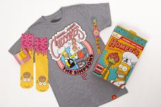 Johnny Cupcakes x The Simpsons