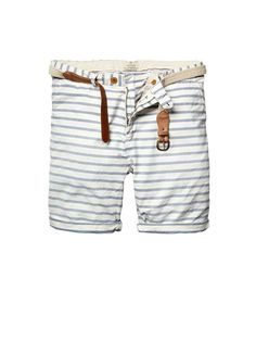 Basic pima cotton shorts - Shorts - Official Scotch & Soda Online Fashion & Apparel Shops