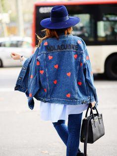 Wir lieben die Jeansjacke von JN by JN Llovet - genauso wie Martha von Hola Cuore.