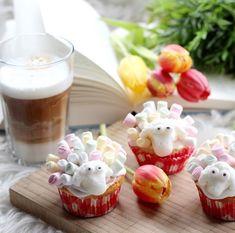 Sweet cupcake sheep. Schäfchen Muffins, nicht nur für Ostern