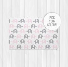 Elephant Nursery Rug Pink By Hawkerpeddler Baby Pinterest